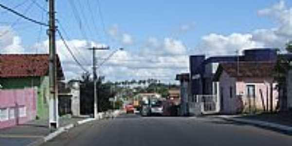 Serra dos Aimorés-MG-Avenida São Francisco-Foto:carlos roberto rocha santana