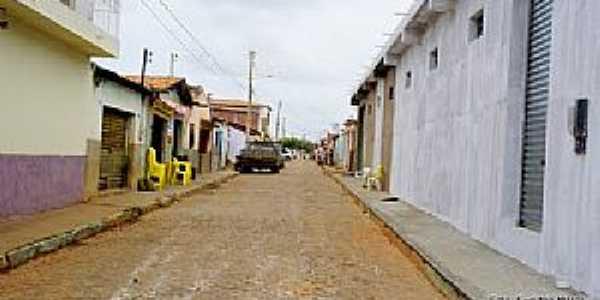 Barra do Mendes-BA-Rua da cidade-Foto:Ewerton Matos