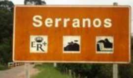 Serranos - Placa de serranos, Por Tatiana arantes
