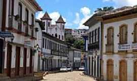 Serro - Rua estreita de Serro-Foto:Jose Gustavo A. Murt…