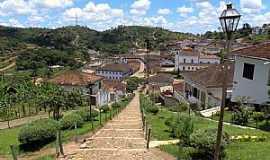 Serro - Serro-MG-Vista da cidade à partir da escadaria-Foto:Jose Gustavo Abreu Murta