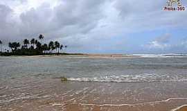 Barra do Pojuca - Praia da Barra de Pojuca - Foto Praias 360