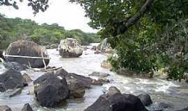 Barra do Pojuca - Barra do Pojuca-BA-Trecho acidentado do Rio Pojuca-Foto:Marcelo Falcão Santos Silva