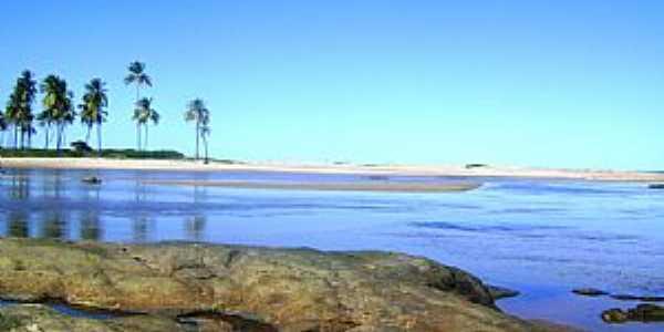 Barra do Pojuca-BA-Praia em Barra do Pojuca-Foto:krysstiani
