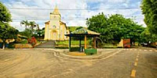 Praça e Igreja São José-Foto:sgtrangel