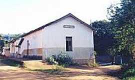 Silvestre - Estação Ferroviária de Silvestre em 2001-Foto:estacoesferroviarias.
