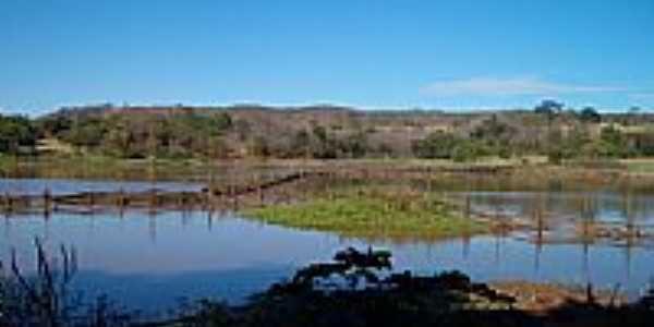 Lagoa Felipe em Simão Campos-Foto:Simão Campos-Mg