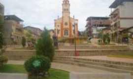 Simon�sia - igreja pra�a  de Simon�sia, Por MAGNA LUCIA DE BELO HORIZONTE