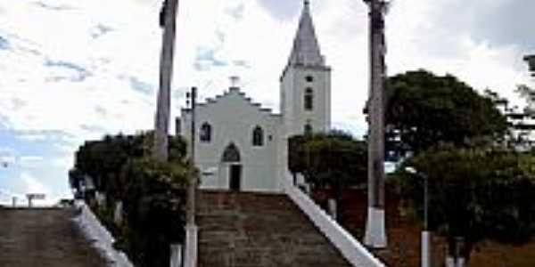 Capela de N.Sra.Auxiliadora em Sobral Pinto-Foto:Raymundo P Netto