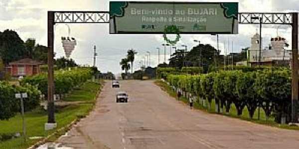 Portal da cidade e Bujari - AC