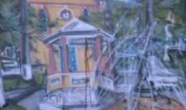 Tabuleiro - Painel na Pra�a de Tabuleiro, Por CL�UDIO LUIZ LADEIRA NETTO