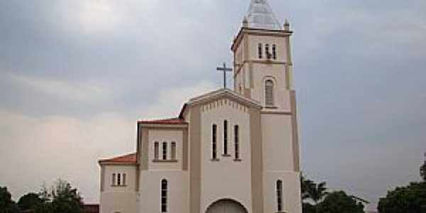 Taiobeiras-MG-Matriz de São Sebastião-Foto:Vicente A. Queiroz