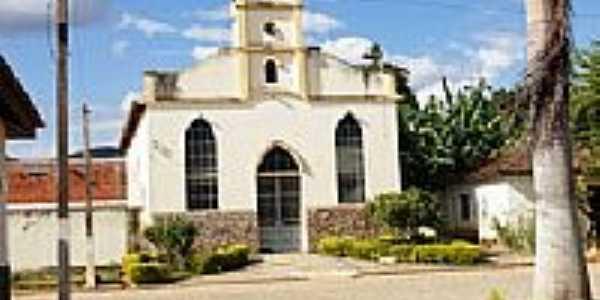 Igreja no centro de Taparuba-Foto:Elpídio Justino de A…