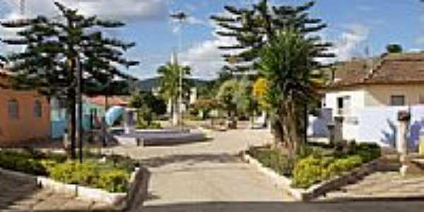 Praça central de Taparuba-Foto:Elpídio Justino de A…