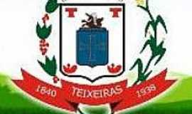 Teixeiras - Brasão de Teixeiras-MG