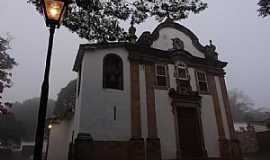Tiradentes - Tiradentes-MG-Capela de N.Sra.do Ros�rio dos Homens Pretos1719-Foto:Paulo Yuji Takarada