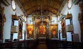 Tiradentes - Tiradentes-MG-Interior da Igreja de São José-Foto:Ana Maria Scarpellini