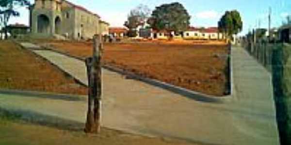 Praça de Taboti em construção