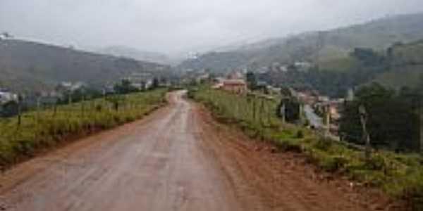 Caminho da Fé - Tocos do Moji ficando para trás      Foto by J. Augusto