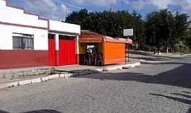 Topázio - Topázio-MG-Comércio e a Praça Central-Foto:Baltazar Viana