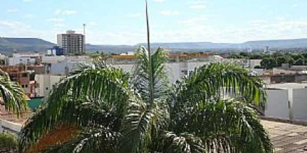 Barreiras-BA-Vista parcial da cidade-Foto:cerrado
