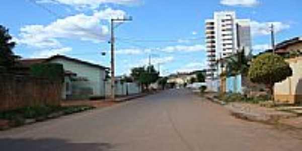 Rua de Barreiras-Foto:cerrado