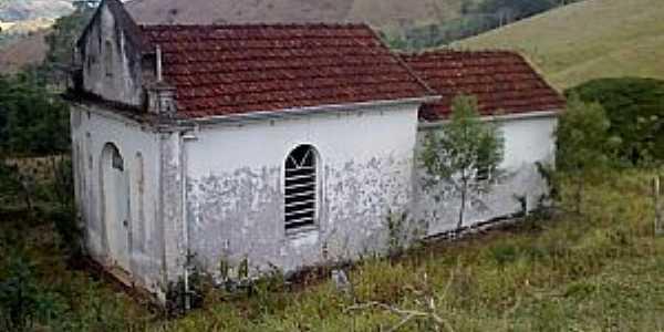Torreões-MG-Capela de Santo Antônio na estrada-Foto:Raymundo P Netto