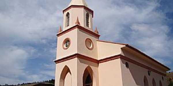 Torreões-MG-Igreja do Senhor Bom Jesus-Foto:Vicente A. Queiroz