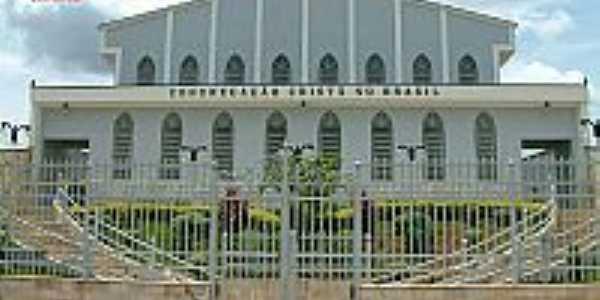 Igreja da Congregação Cristã do Brasil em Três Corações-Foto:Congregação Cristã.NET
