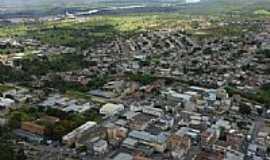 Tr�s Marias - Vista a�rea da cidade de Tr�s Marias-MG-Foto:renato weil