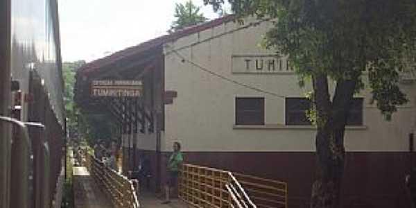 Tumiritinga-MG-Estação Ferroviária-Foto:Glaucio Henrique Chaves
