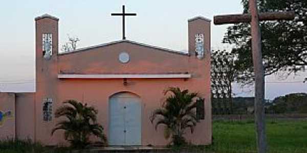 Tupaciguara-MG-Capela do Divino Pai Eterno-Foto:Altemiro Olinto Cristo