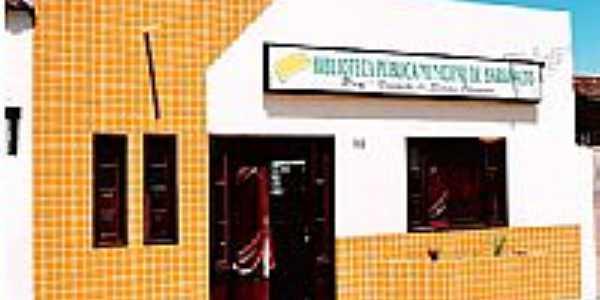 Biblioteca Pública Municipal de Barro Alto-BA-Foto:Tarlis