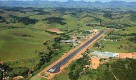 Ubá - Ubá-MG-Vista da nova pista do aeroporto-Foto:aguibrum