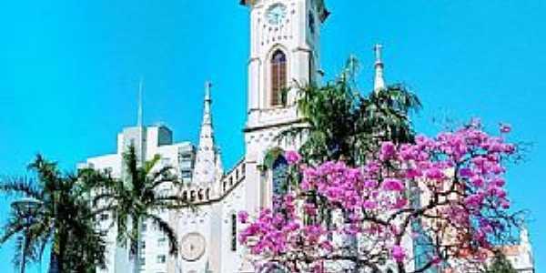 UBERABA - MG  Catedral Sagrado Coração de jesus ,Sto Antonio e S Sebastião  Fotografia de Valmir Silveira