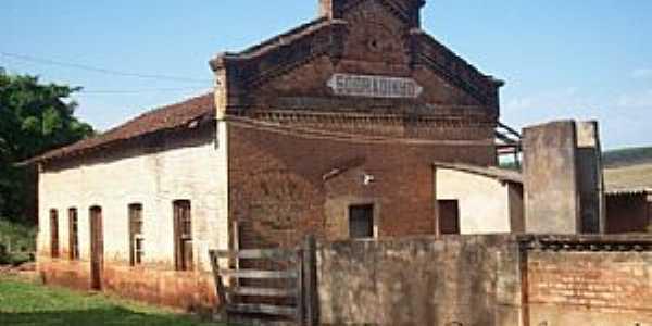 Uberlândia-MG-Estação Ferroviária no Distrito de Sobradinho-Foto:Leonardo Figueiredo