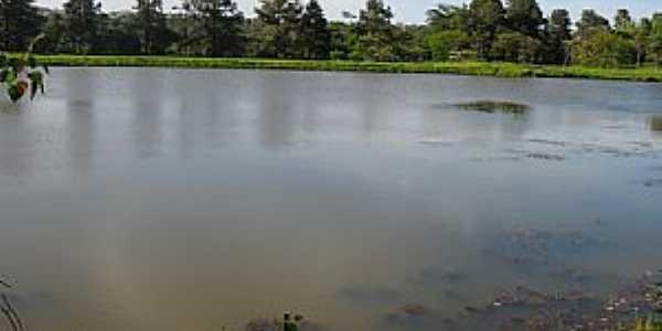 Uberlândia-MG-Lago no Parque do Sabiá-Foto:Letícia A Oliveira
