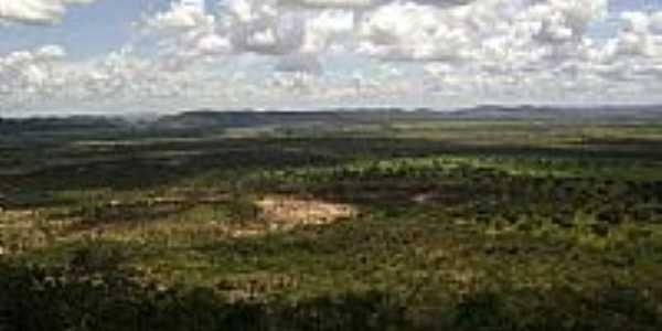Vista da região de Unaí-MG-Foto:Gethulio