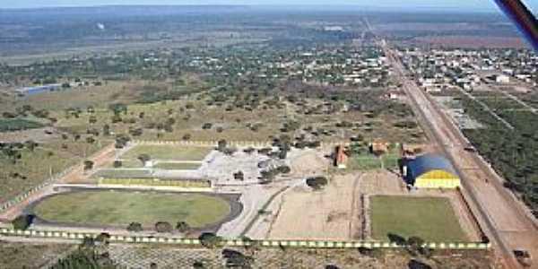 Vista da cidade de Urucuia Por Alberto Cavalcanti