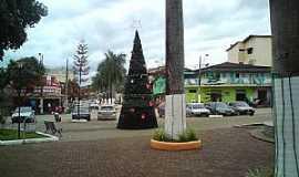 Valão - Valão-MG-Praça central-Foto:Salvino Olegario