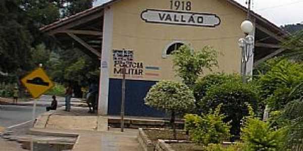 Valão-MG-Antiga Estação Ferroviária-Foto:djsalnd