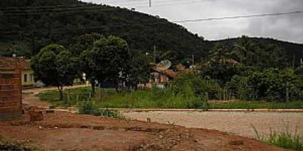 Valão-MG-Entrada do Distrito-Foto:Salvino Olegario