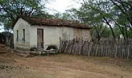 Barro Vermelho - Casa em área rural de Barro Vermelho-BA-Foto:Ewerton Matos