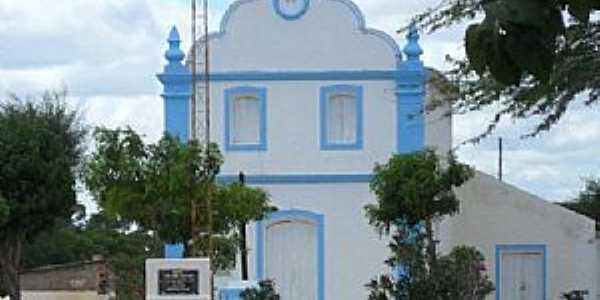 Barro Vermelho-BA-Igreja de São João-Foto:Geraldo José