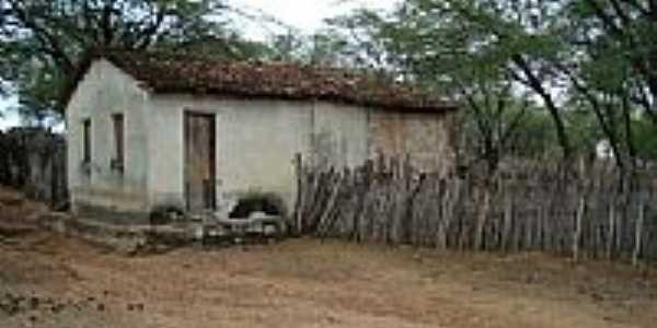 Casa em área rural de Barro Vermelho-BA-Foto:Ewerton Matos