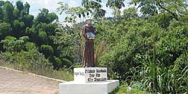 Vargem Bonita-MG-Imagem em homenagem à São Francisco-Foto:Gláucio Almeida