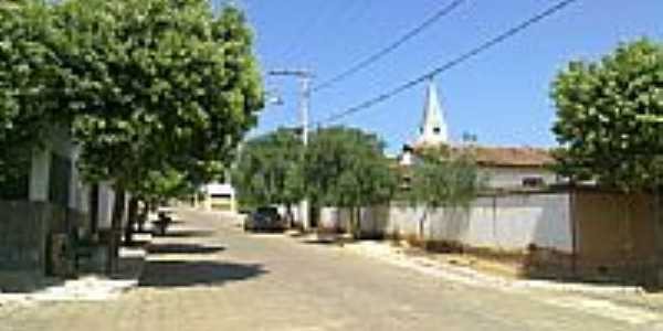 Rua Joaquim de Assis em Vargem Grande do Rio Pardo-Foto:jonas oliveira