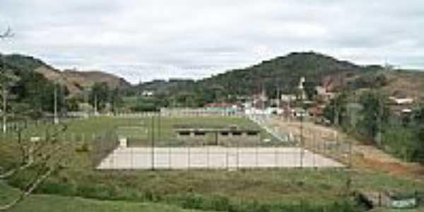 Estádio Jaime Silva em Vargem Linda-Foto:zedavargem@hotmail.c...