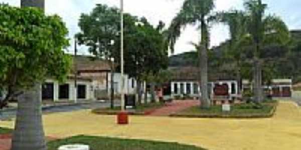 Praça Padre Raimundo em Vargem Linda-Foto:zedavargem@hotmail.c...