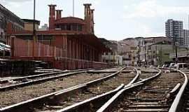 Varginha - Varginha-MG-Estação Ferroviária-Foto:Edu Lacerda